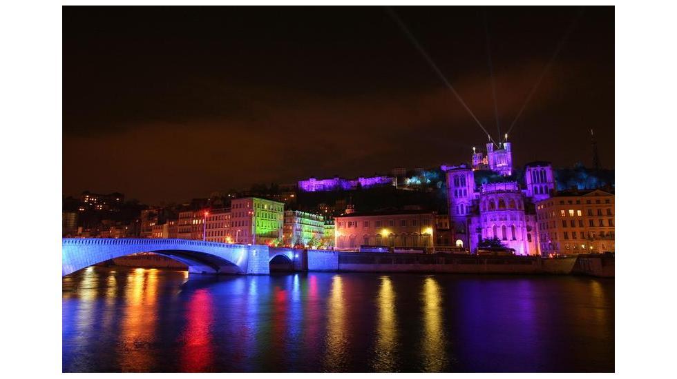 Sortie pour les lumières de Lyon