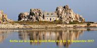 Sortie sur la côte de Granit Rose