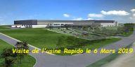 Visite de l'usine Rapido à Mayenne