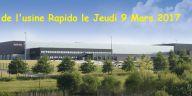 Visite de l'usine Rapido