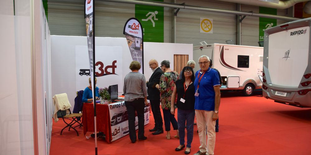 R3cf rapido camping car club de france for Salon du bourget 2018
