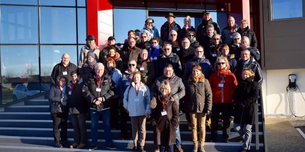 Visite de l'usine Rapido 2018