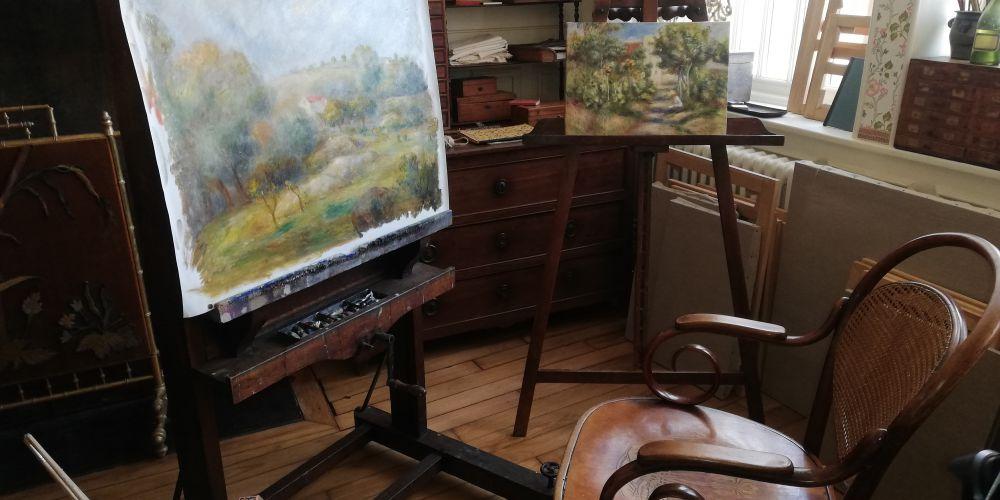 Essoyes le village d'Auguste Renoir