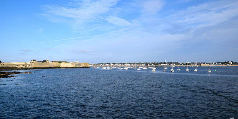Sortie dans le golf du Morbihan