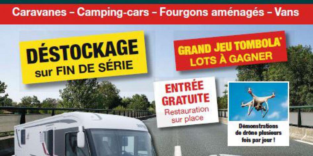Salon du Camping-Car d'occasion de St brieuc du 23 au 26 Février prochain