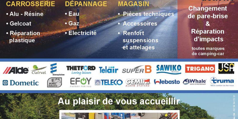 Gilles'Loisirs Camping-Cars à Vatan 36150