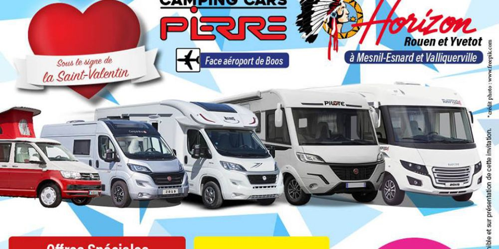 Portes ouvertes Camping Cars Pierre