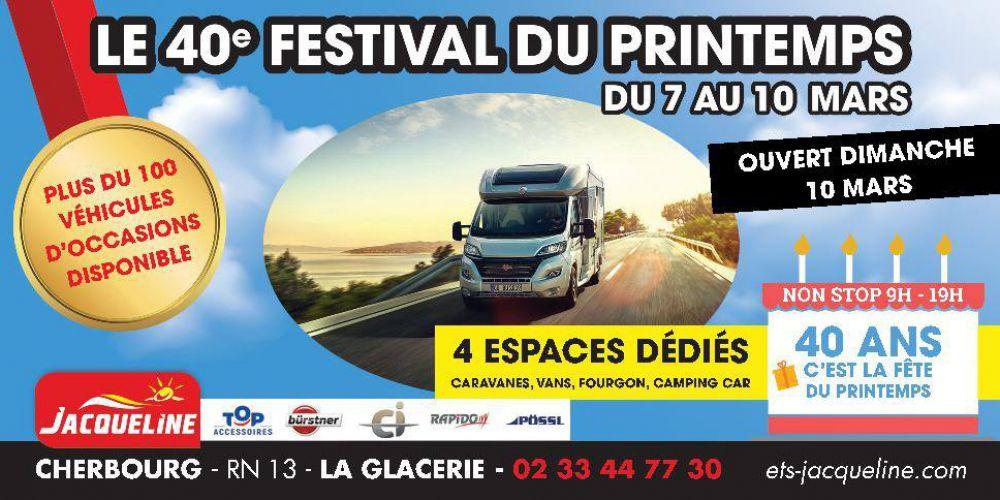 Du 7 au 10 mars 2019  40ème Festival du Printemps à Cherbourg