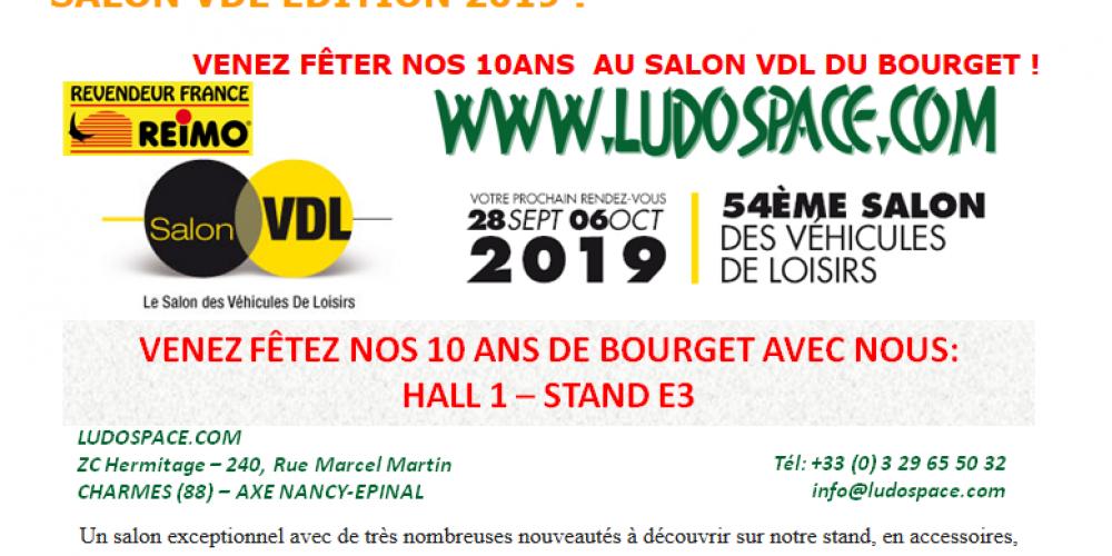 Ludospace au Salon VDL du Bourget
